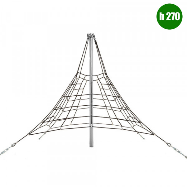 PIRAMIDE 270 DIM CM 280 X 280 X 270 (H)