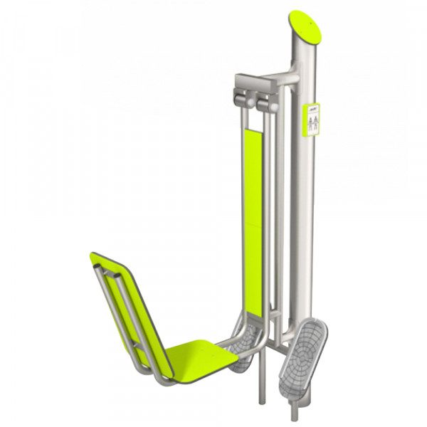 FITNESS BG LEG PRESS INOX DIM CM 126 X 58 X 200 (H)