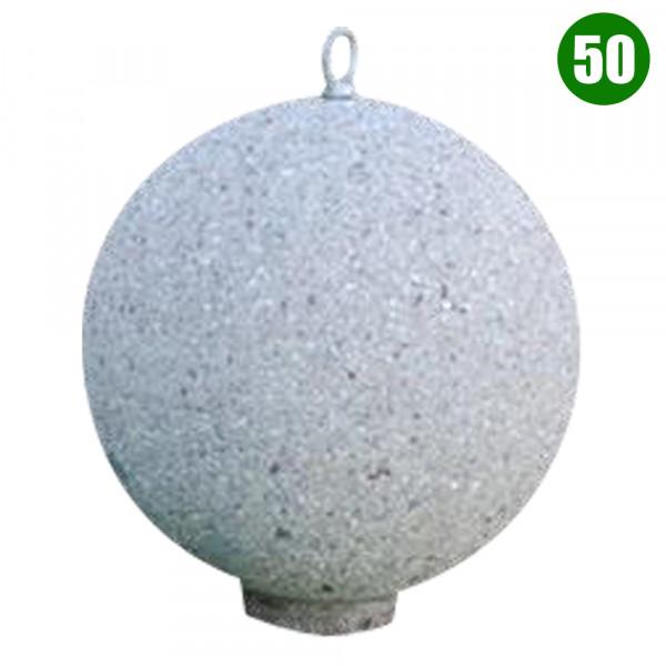 DISSUASORE A SFERA 50 CON GANCIO CM 50 X 50 X 50 (H)
