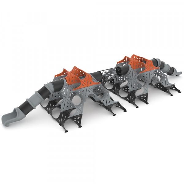 CASTELLO PYRAMID TUNNEL SLIDES DIM CM 1775 X 600 X 280 (H)