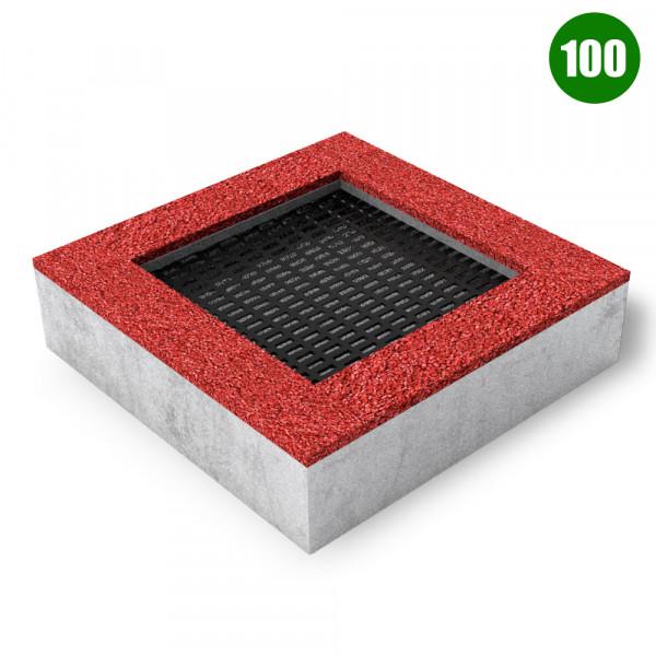TAPPETO ELASTICO QUAD 100 CM 150X150X40 (H)