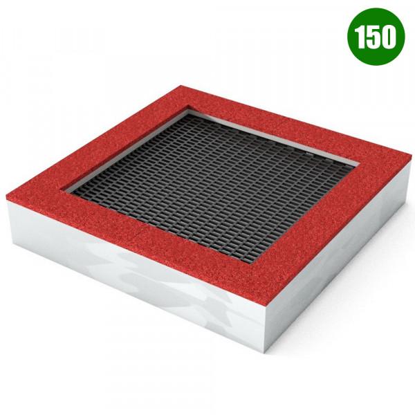TAPPETO ELASTICO QUAD 150 CM 200X200X40 (H)