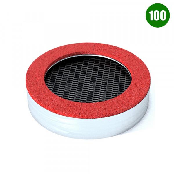 TAPPETO ELASTICO TONDO 100 CM 150X150X40 (H)