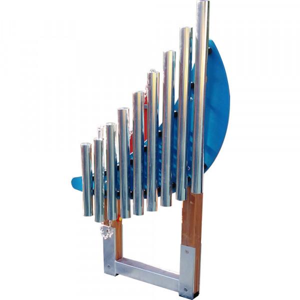 GIOCO MUSICALE XYLOFONO VERTICALE 24X89X153 CM