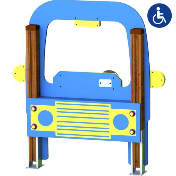 GIOCO PANNELLO CAR INCLUSIVO 122 X 15 X 130 CM (H)